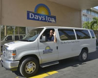 Free airport shuttle at Days Inn JFK International Airport